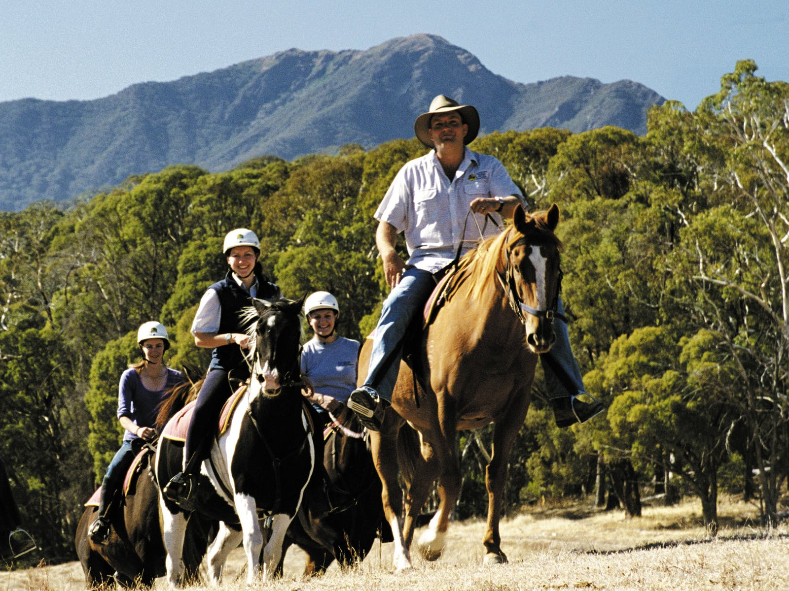 Horseriding in the High Country