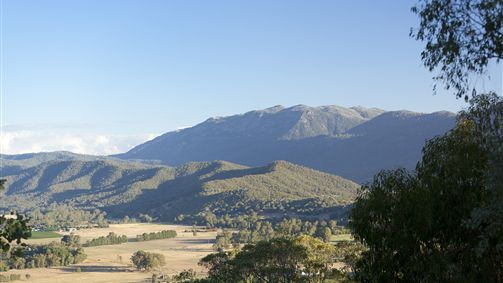 Views of Mount Buffalo