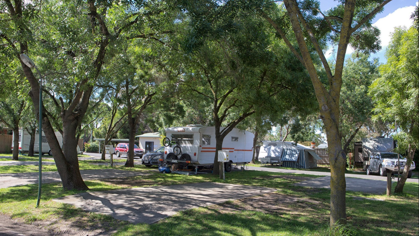 BIG4 Dandenong Tourist Park Caravan and Camping Ground Self-Contained Accommodation Shady Sites