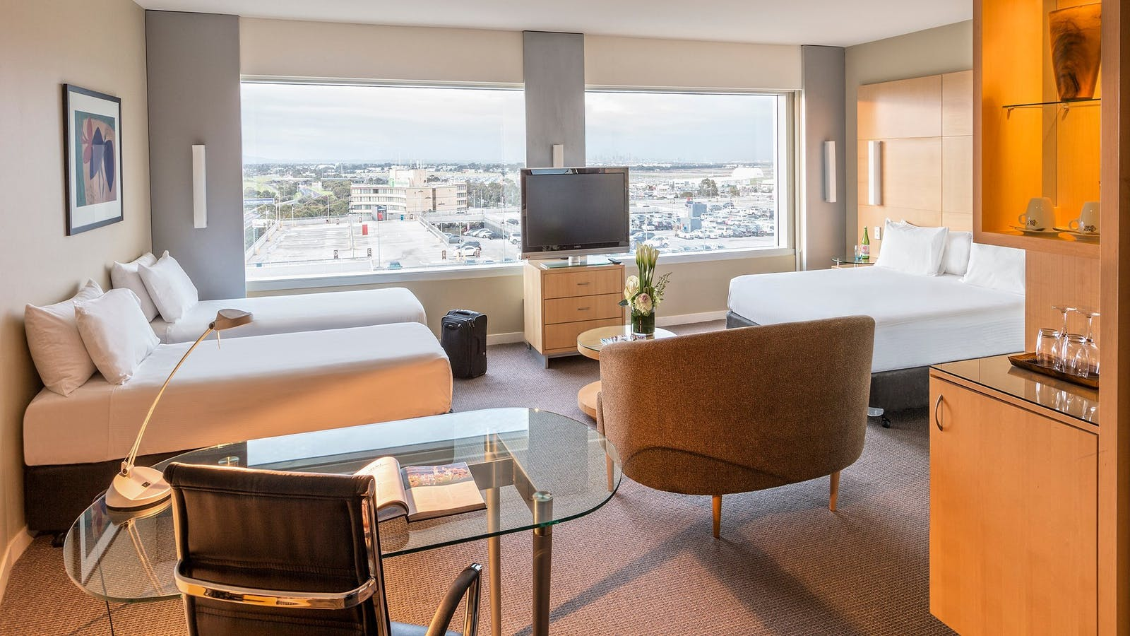 Family Room City View