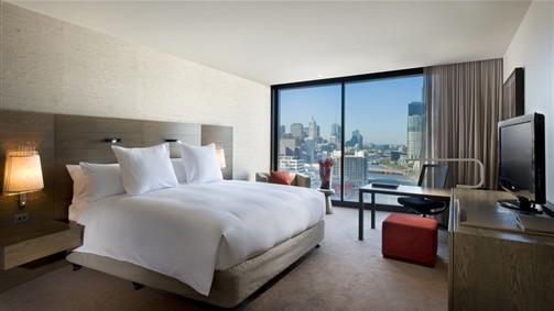 Guest Room -  Hilton Melbourne South Wharf