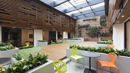 Indoor Courtyard