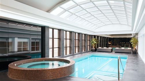 Indoor Outdoor Pool and Spa