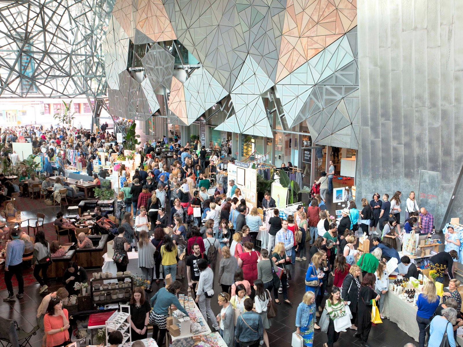 Markit@FedSquare – The Atrium and Deakin Edge Theatre, Federation Square