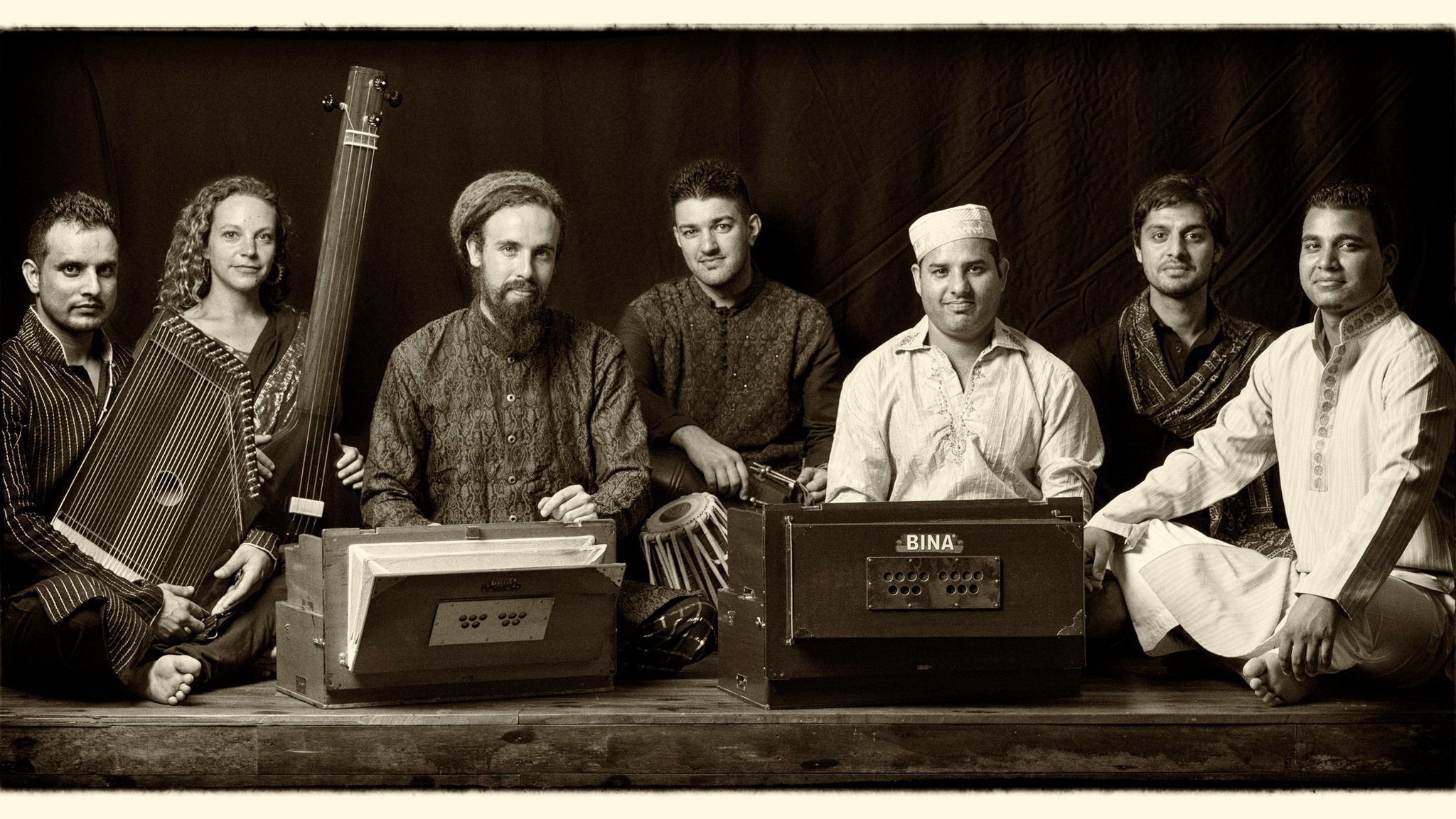 Tahir Qawwal, Sufi musician and his group