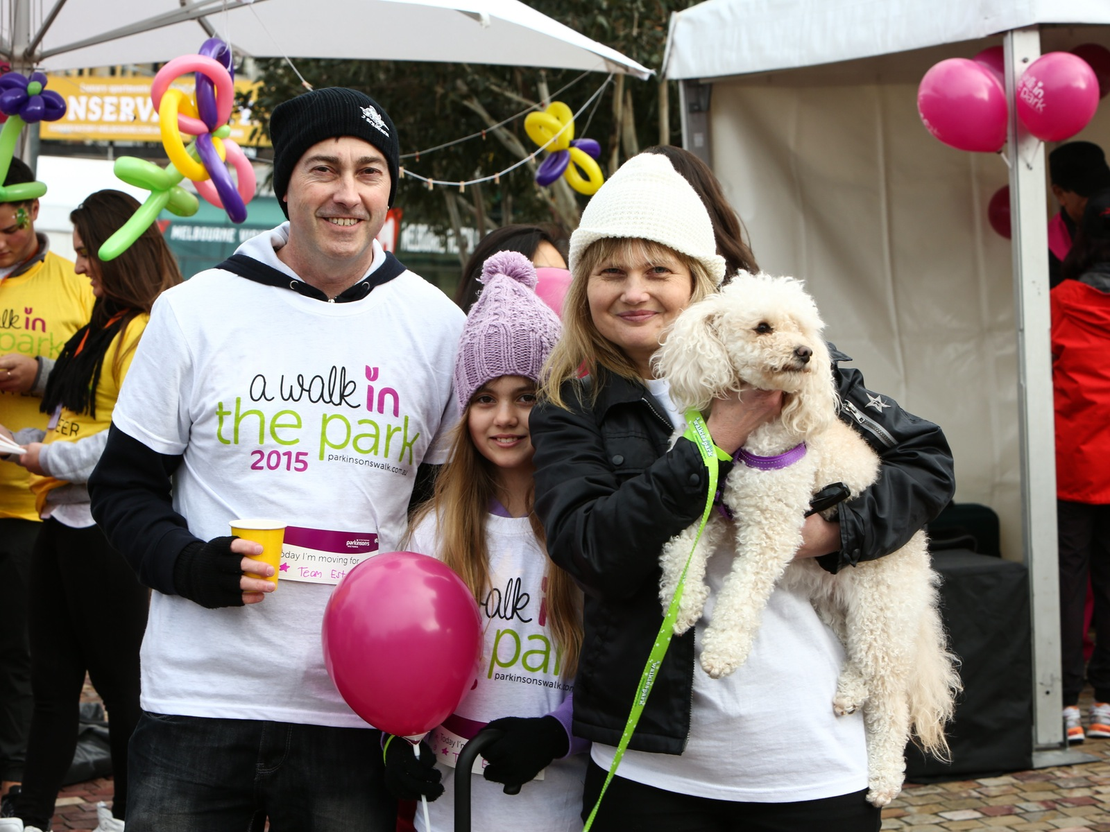 Parkinson's Victoria A Walk in the Park 2016