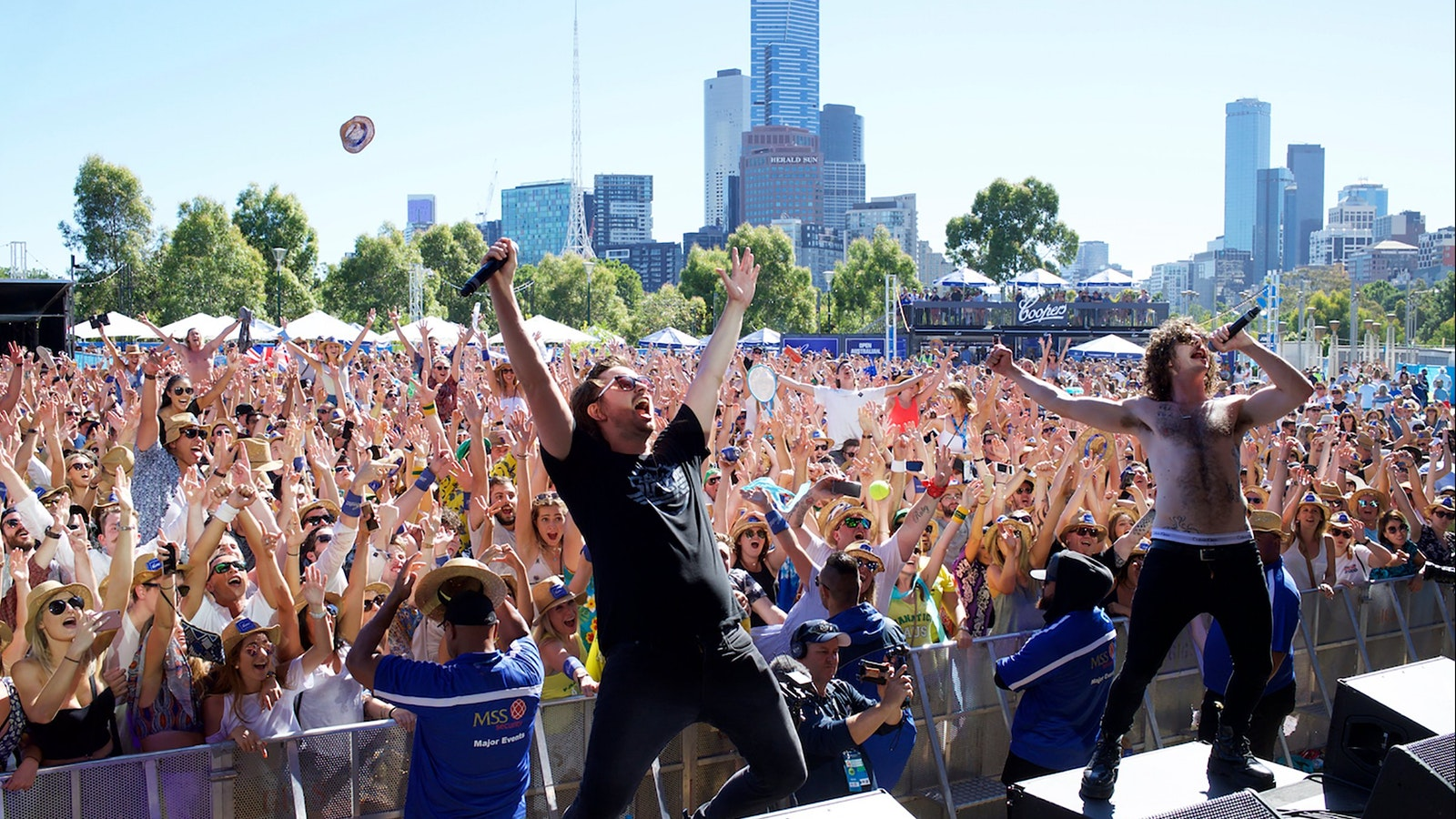 The AO Live Stage has become one of Melbourne's biggest parties hosting some of the hottest Australi