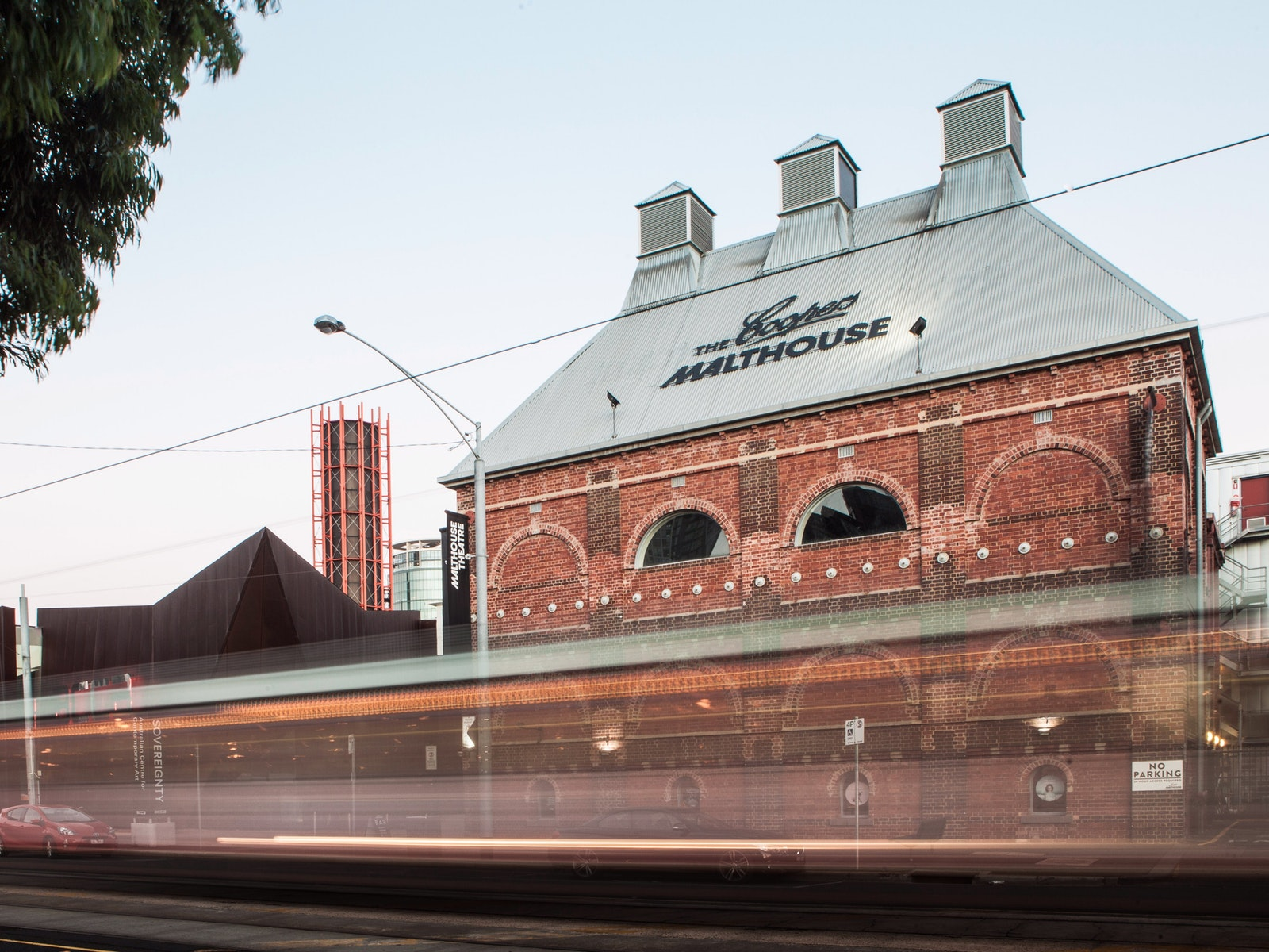 The Coopers Malthouse from Sturt St