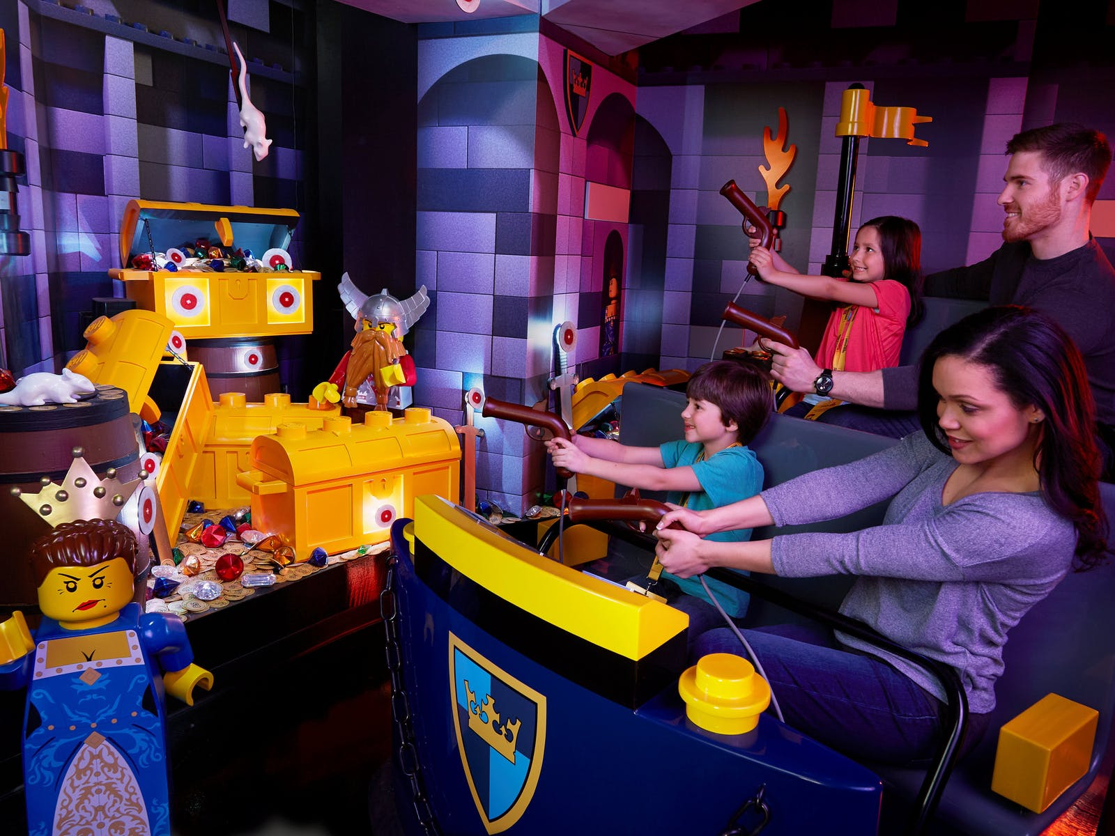 Family activities victoria australia the captured princess needs your help hop aboard the kingdom quest ride to rescue her negle Gallery