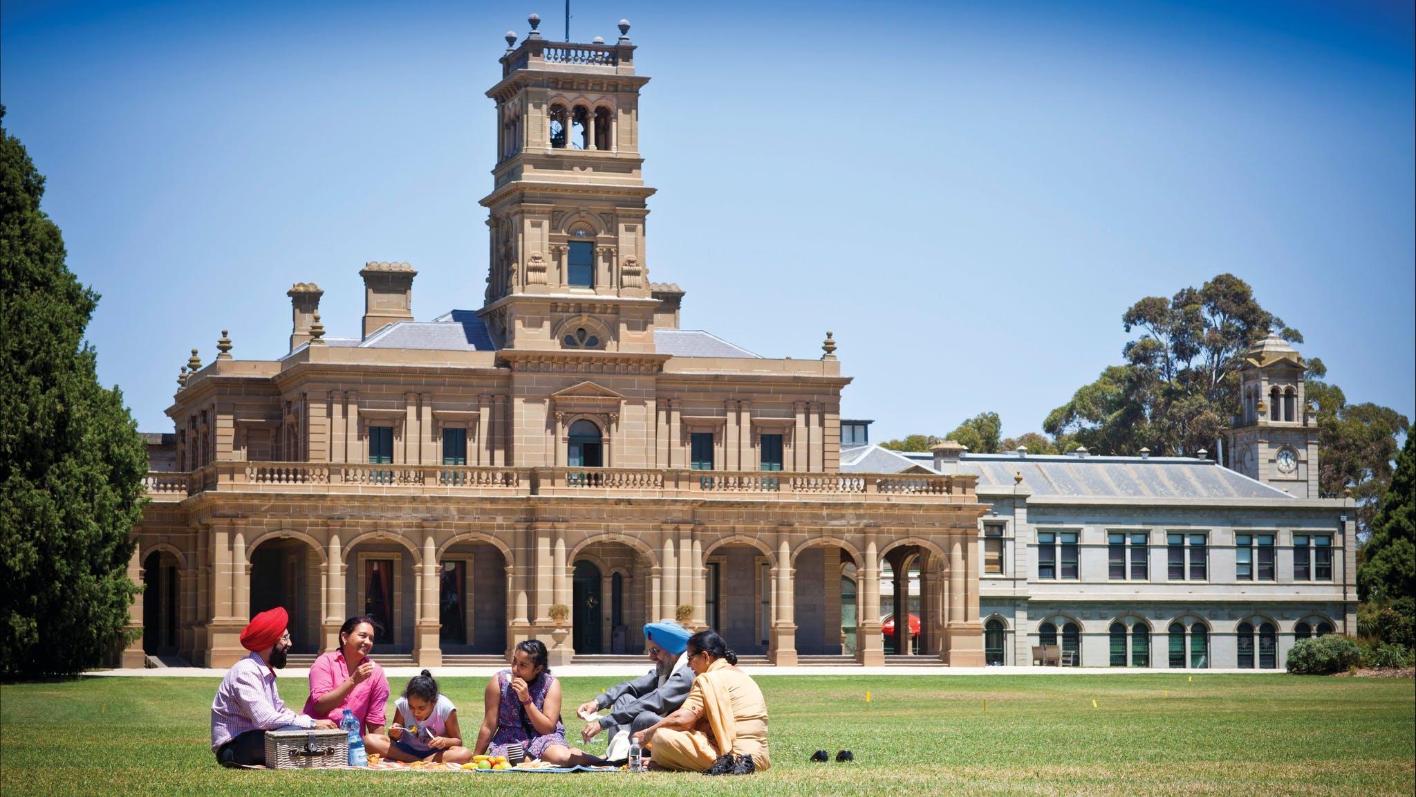 Werribee Park and Mansion, Attraction, Melbourne, Victoria, Australia