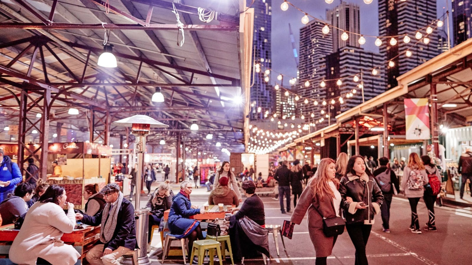 Melbourne Winter Night Market