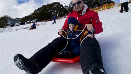 Mt Buller snow day trip