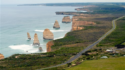 The Twelve Apostles from the Great Ocean Road