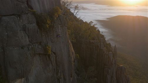 Unleashed-Unlimited Beyond the Edge Mt Buffalo Portaledge at Sunrise