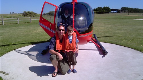Discounted helicopter flights