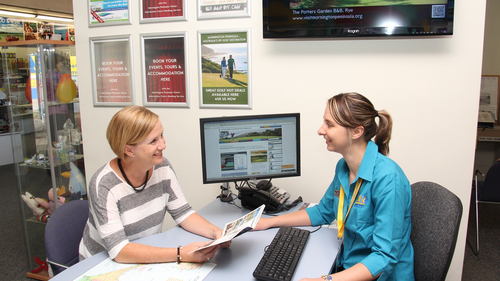Mornington Peninsula Visitor Information Centre and Booking Service