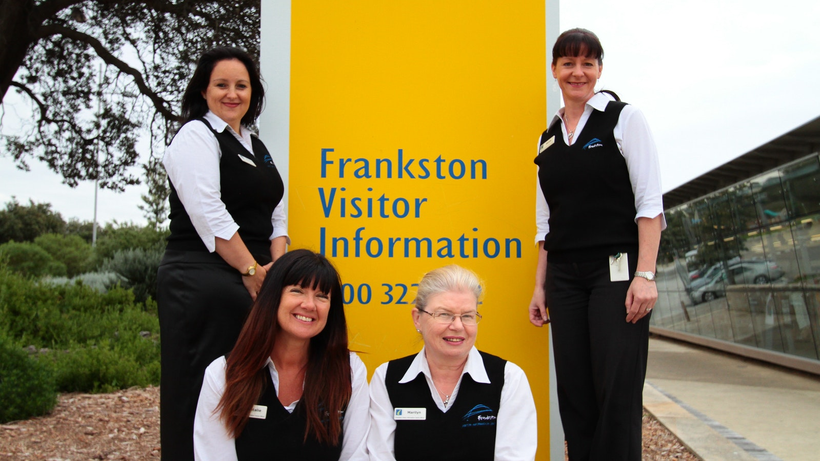 Staff outside FVIC