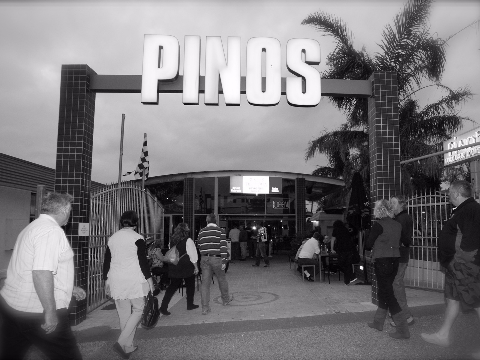 Pino's front entrance