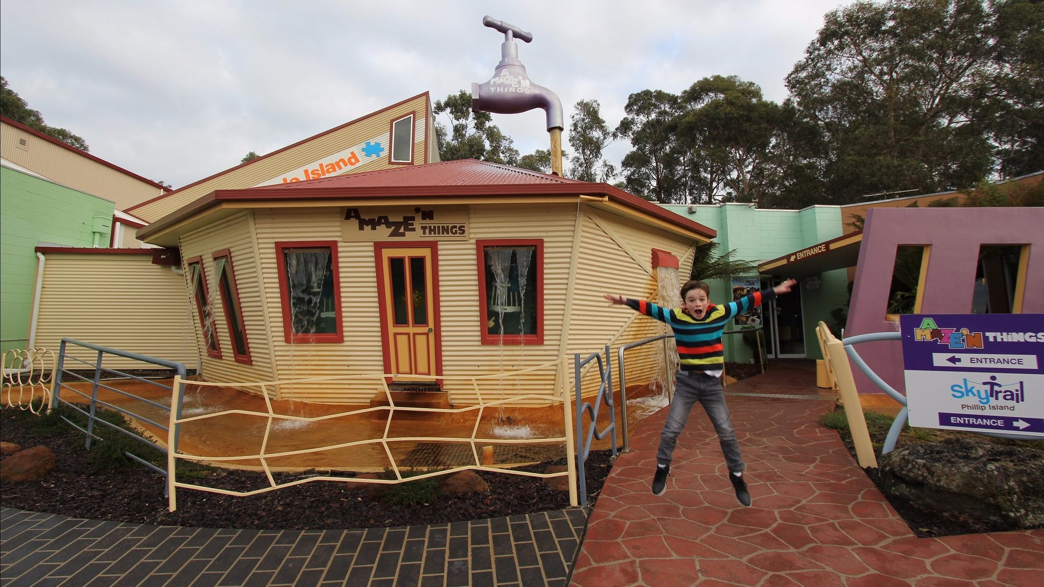 A Maze N Things Attraction Phillip Island Victoria