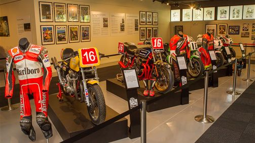 All New History of Motorsport Display