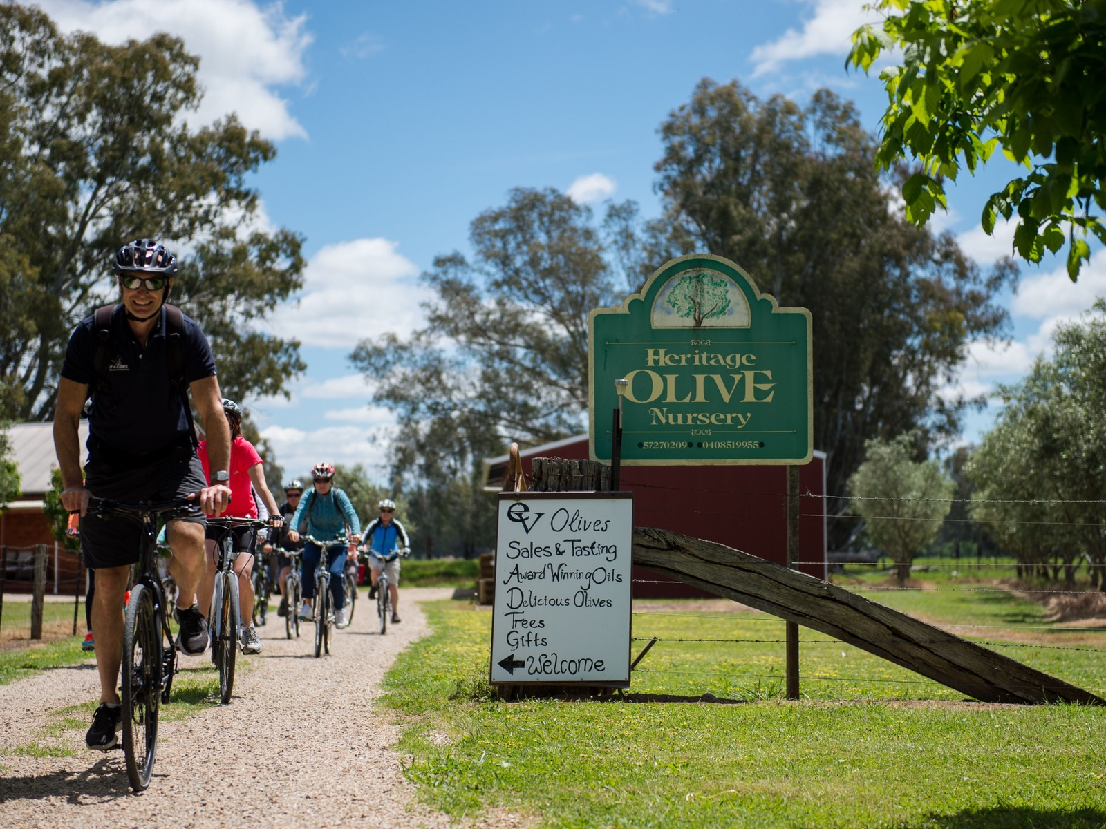 Pedal to Produce cycling tour