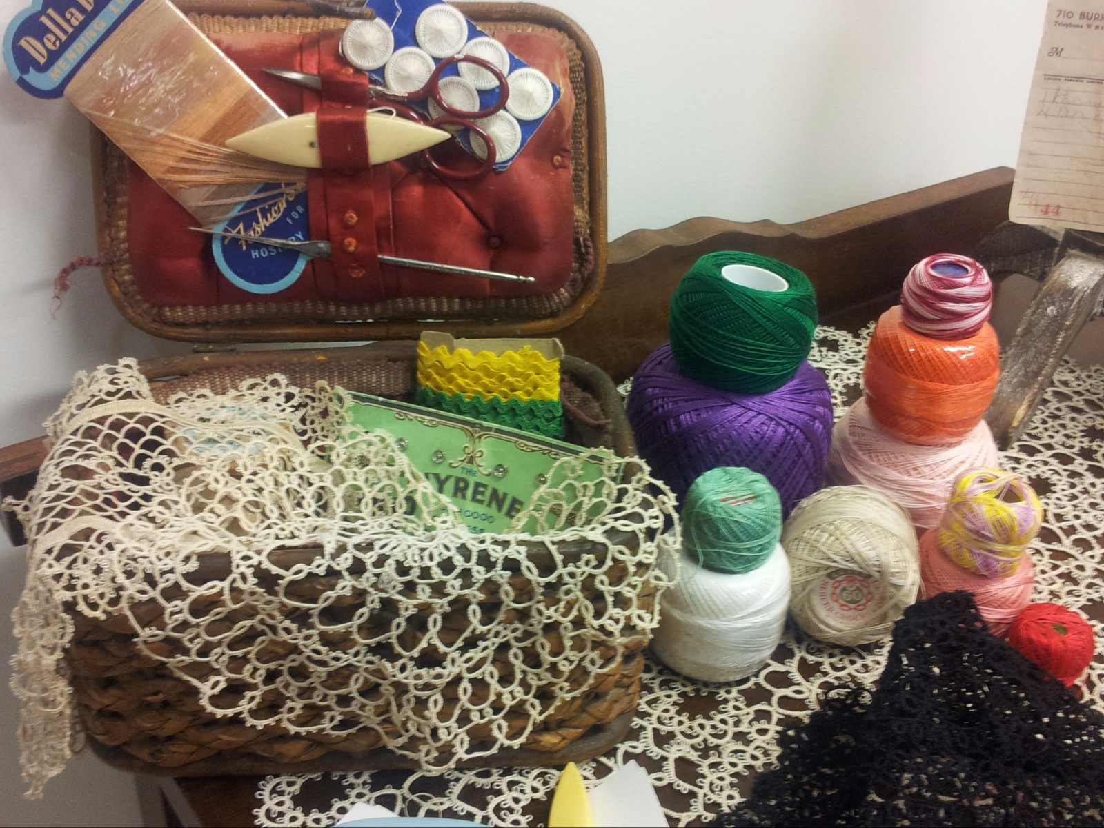 Tatting Display presented by the Tatters Guild
