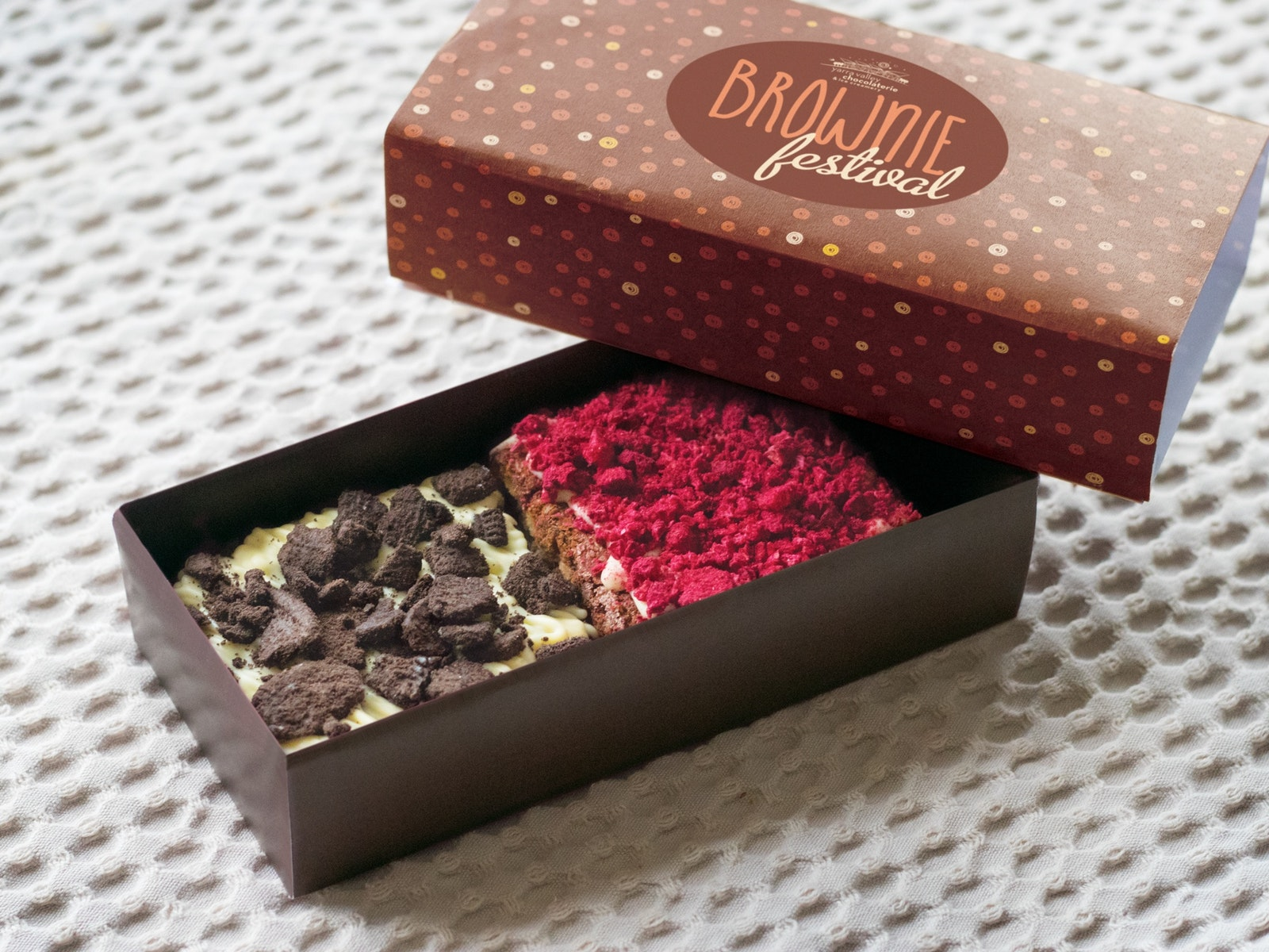 Yarra Valley Chocolaterie Brownie pack