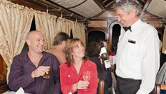 Dinner & Dance Train Carriage