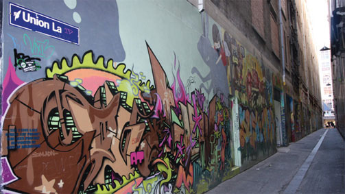 Culture Secrets - Union Lane, Melbourne, Victoria, Australia