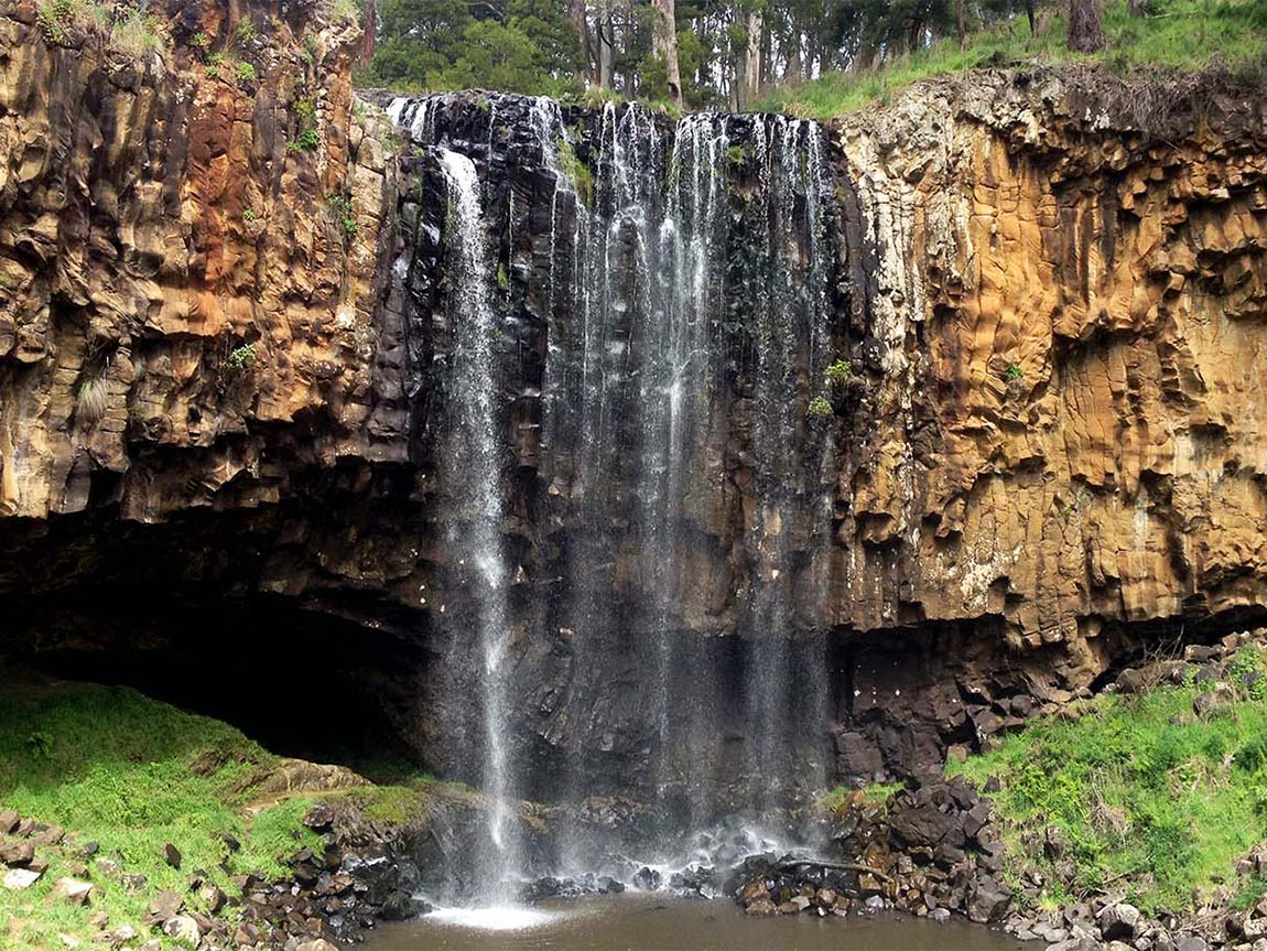 Trentham Falls, Daylesford and the Macedon Ranges, Victoria, Australia