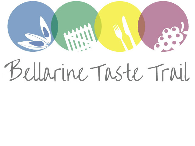 Bellarine Taste Trails Logo, Geelong and the Bellarine Peninsula