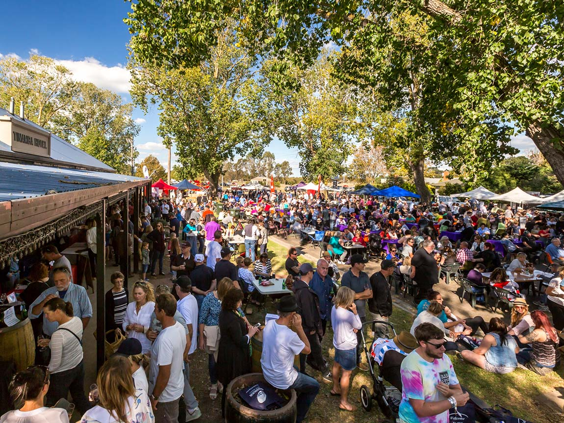 Tinamba Food and Wine Festival, Gippsland, Victoria, Australia