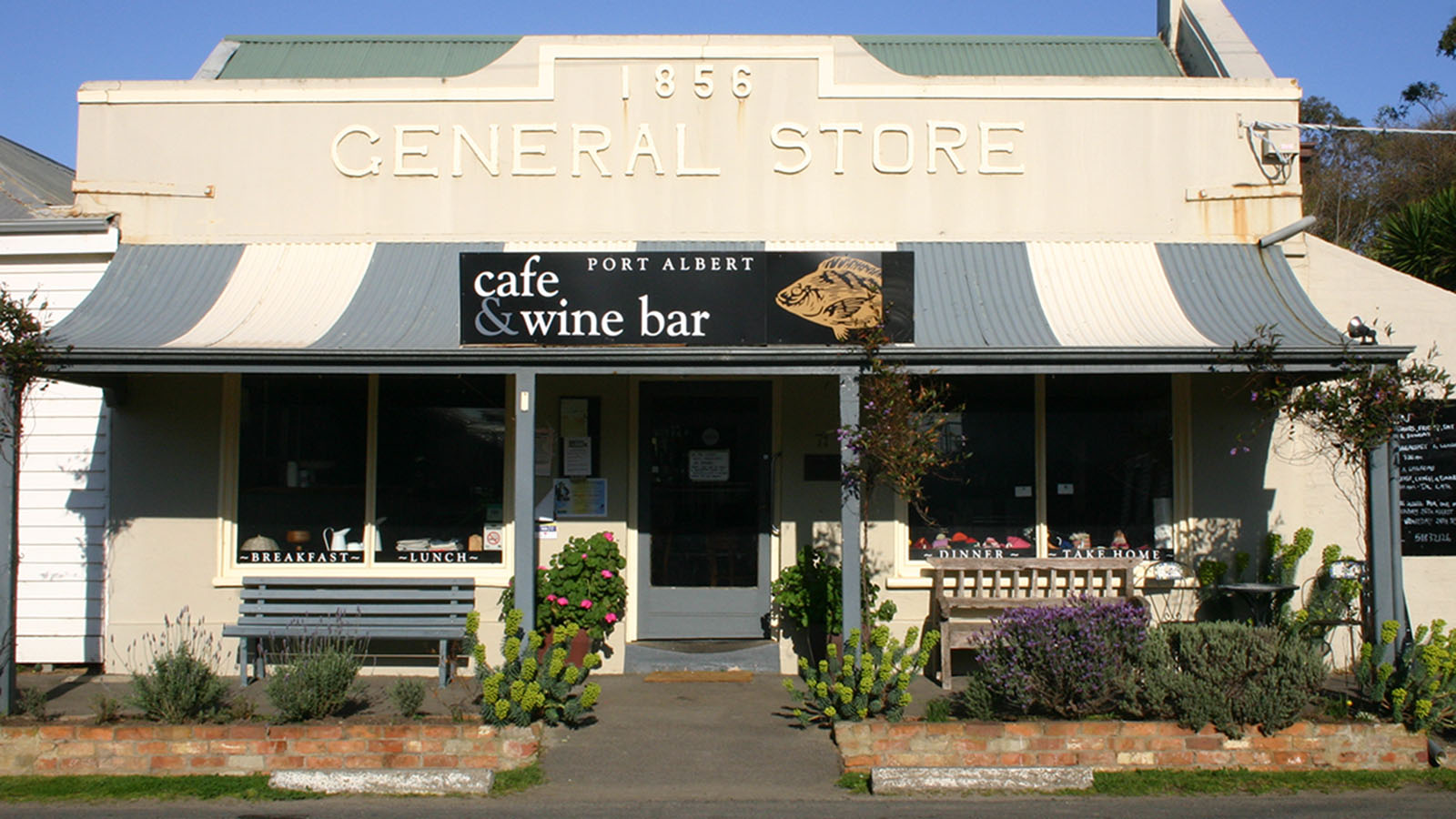 Port Albert Cafe & Wine Bar, Gippsland, Victoria, Australia