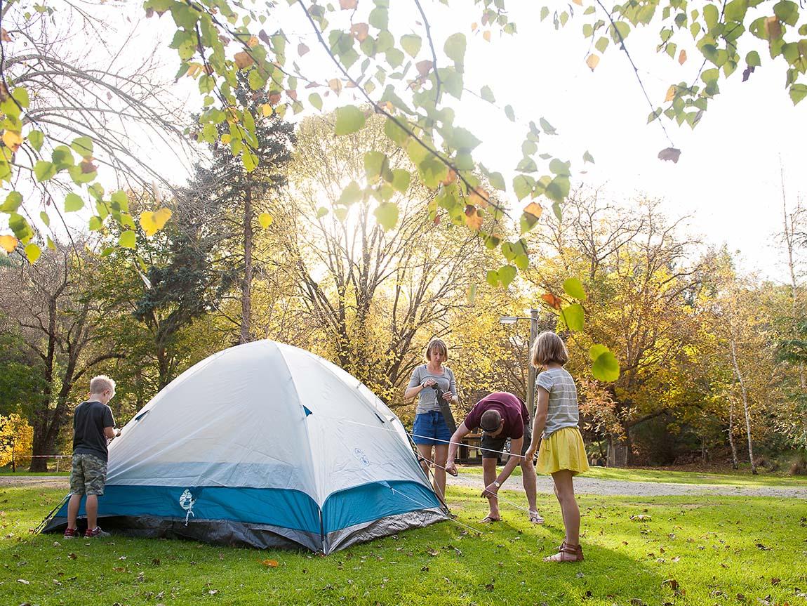 Camping, Gippsland, Victoria, Australia