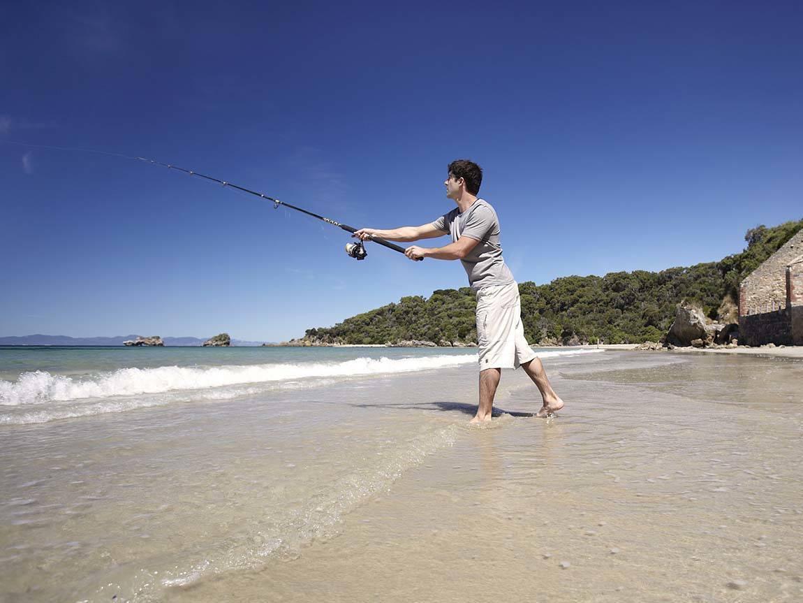 Fishing, Gippsland, Victoria, Australia