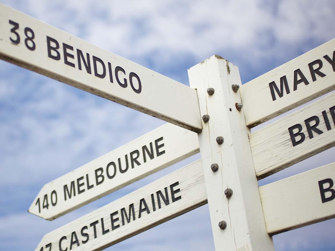 Destinations, Goldfields, Victoria, Australia