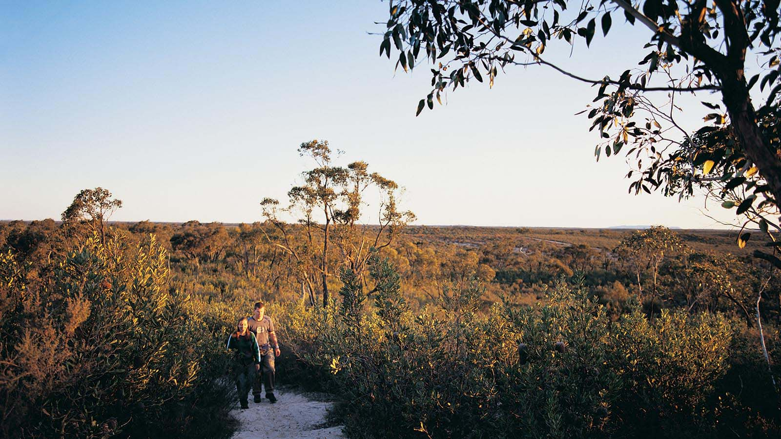 Hiking in Little Desert National Park, Grampians, Victoria, Australia