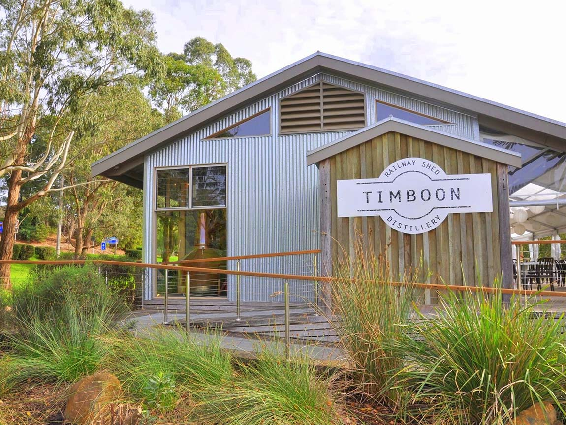 Timboon Railway Shed Distillery, Great Ocean Road, Victoria, Australia