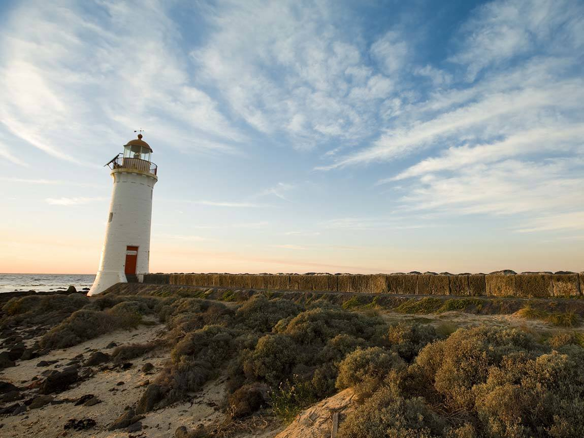 Port Fairy Lighthouse, Great Ocean Road, Victoria, Australia