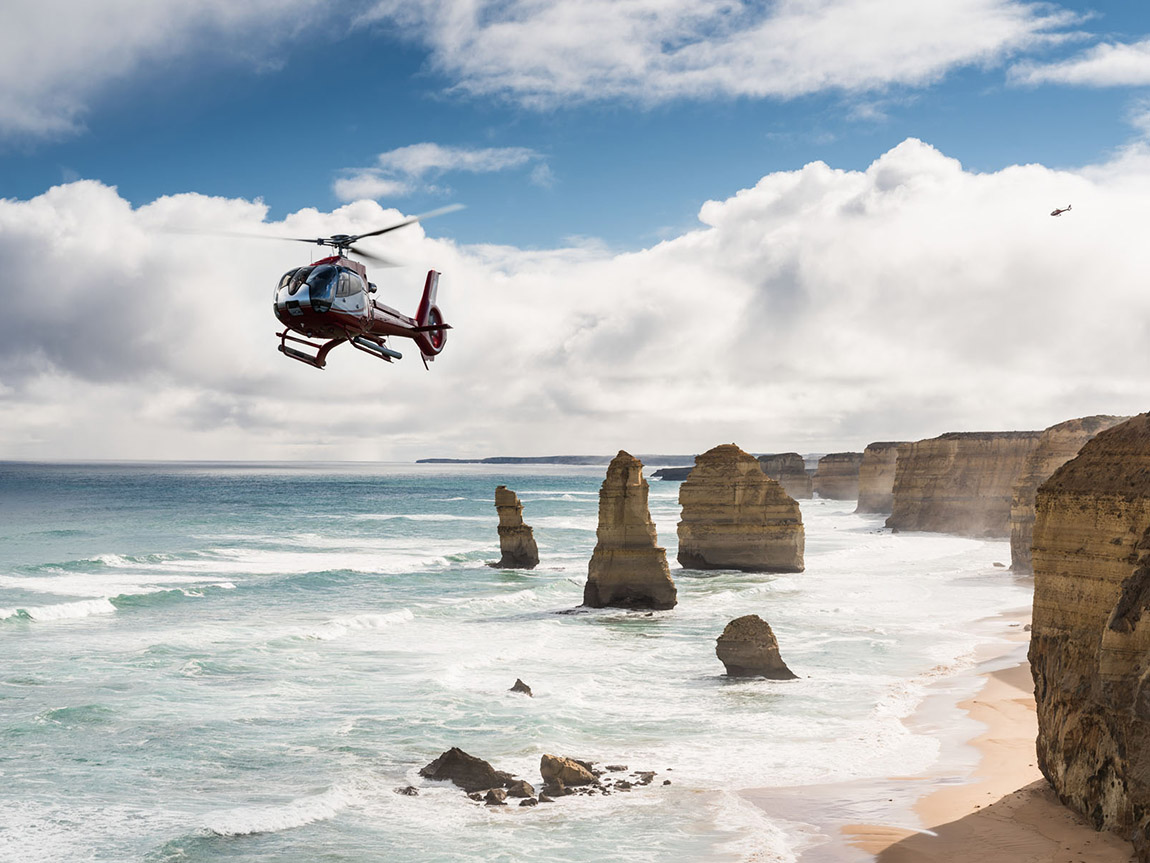 Scenic Flight, 12 Apostles, Great Ocean Road, Victoria, Australia