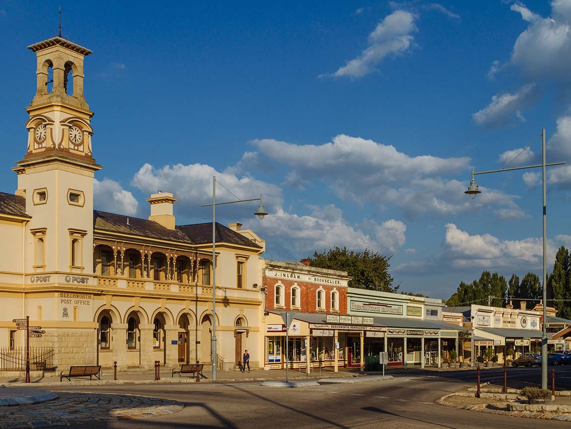 Beechworth streetscape, High Country, Victoria, Australia. Image: Roberto Seba