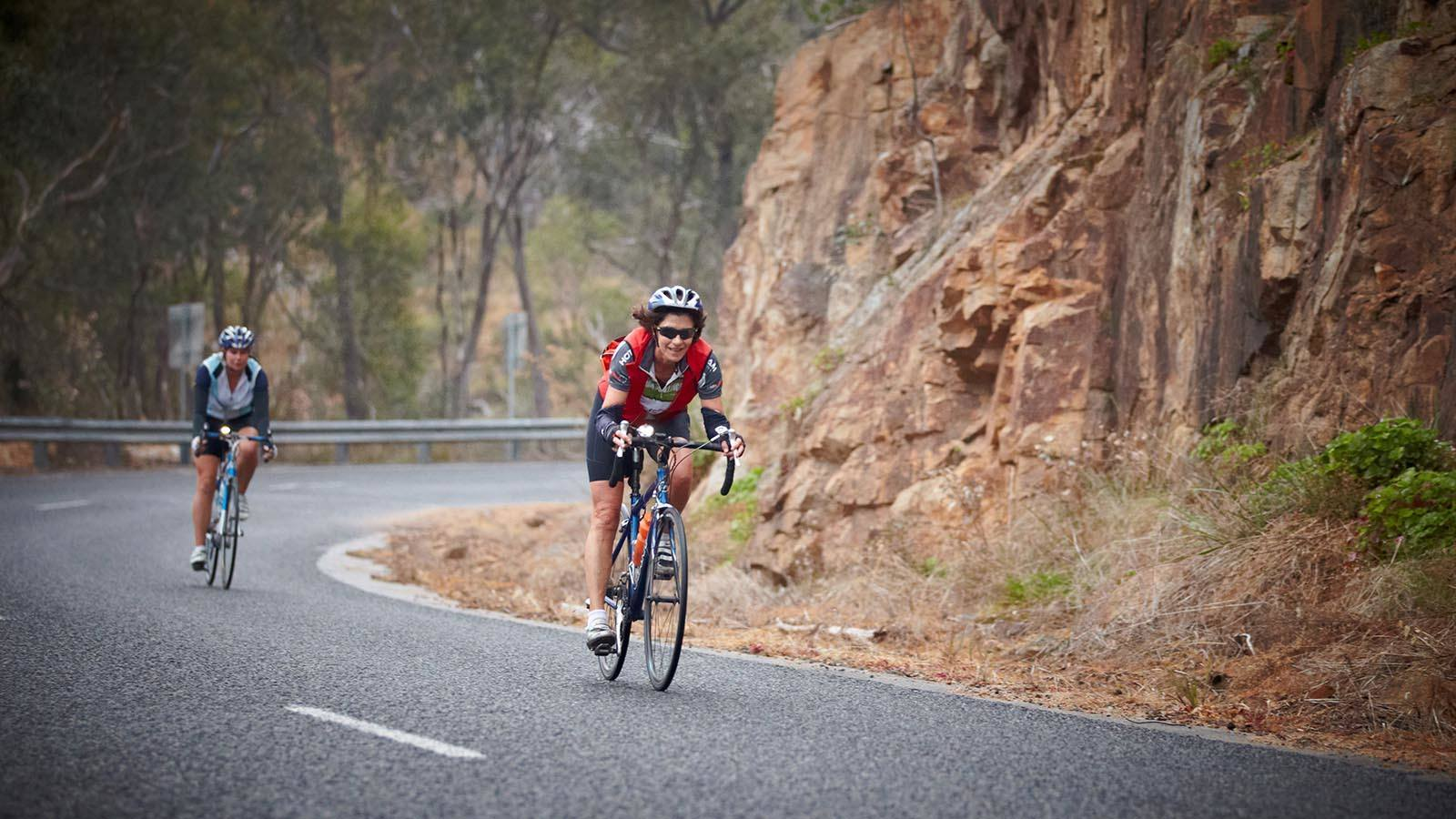 Road cycling, High Country, Victoria, Australia