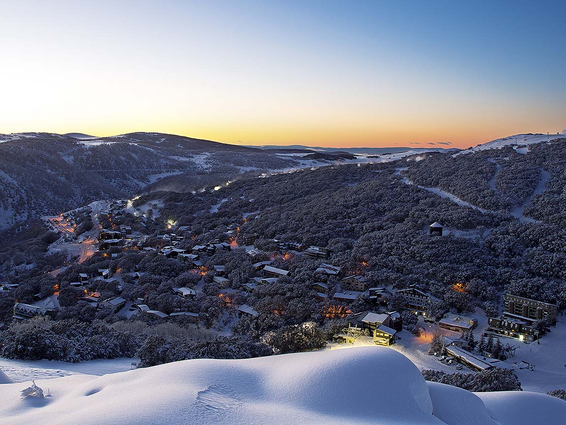 Falls Creek Alpine Resort, High Country, Victoria, Australia. Image: Charlie Brown Photography