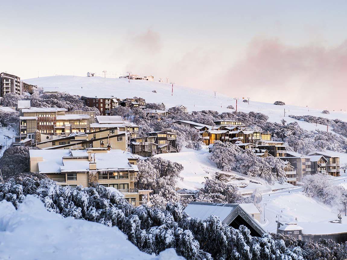 mt buller, ski victoria, australia