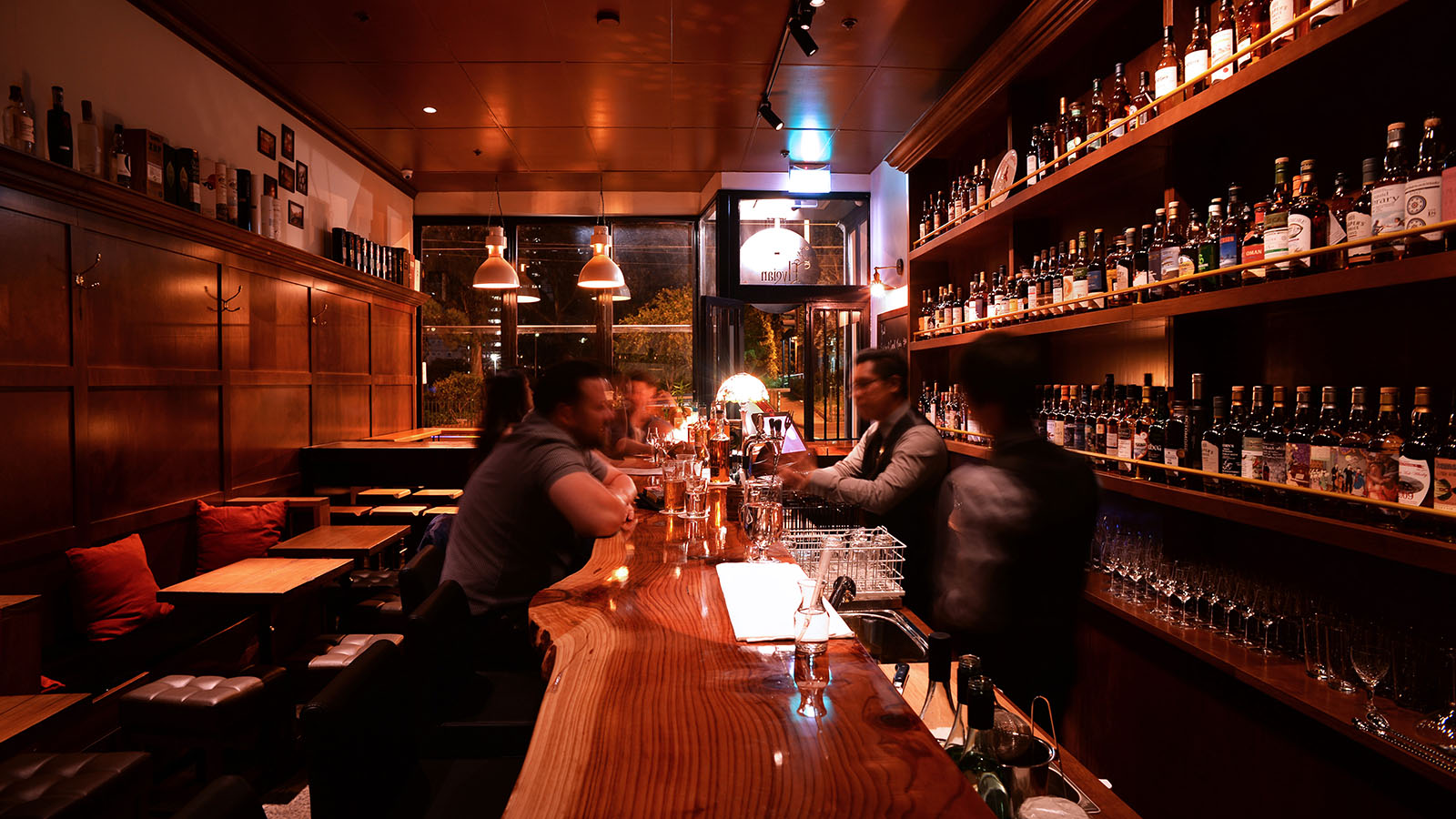 The Elysian Whisky Bar, Melbourne, Victoria, Australia. Credit: James Neilson