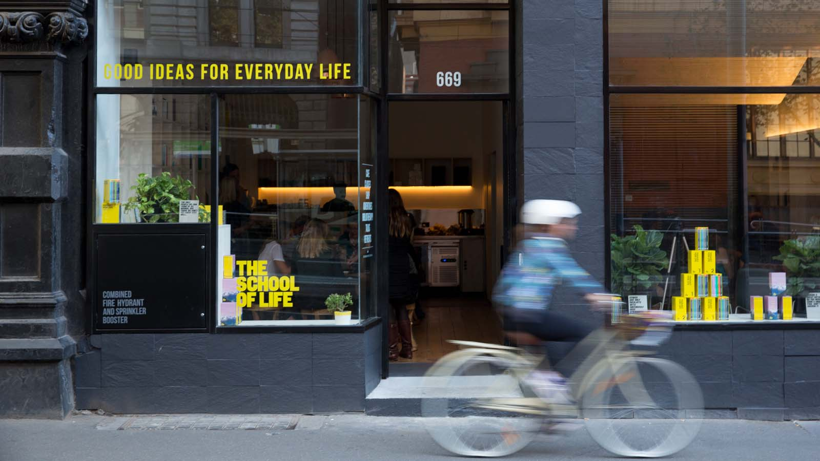 The School of Life, Melbourne, Victoria, Australia. Photo: Hilary Walker