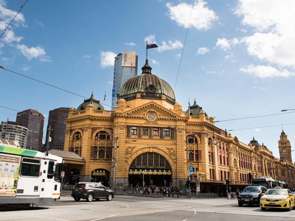 Architecture swanston street and st kilda road art and for Architects melbourne