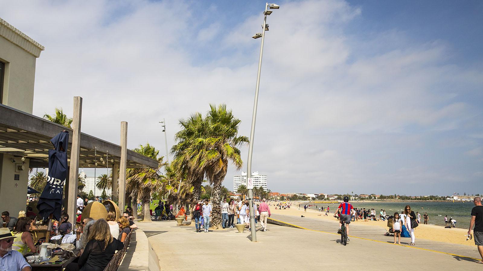 St Kilda Beach Melbourne Victoria Australia