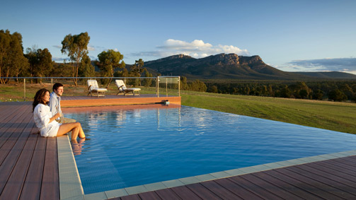 Meringa Springs Lodge, Wartook Valley, Grampians, Victoria, Australia