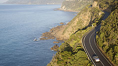 Driving, Great Ocean Road, Victoria, Australia